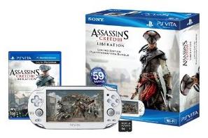 Sony PS Vita Wi-Fi Assassin's Creed III Liberation Bundle