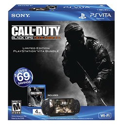 Sony PS Vita Wi-Fi Call of Duty: Black Ops Declassified Limited Edition Bundle