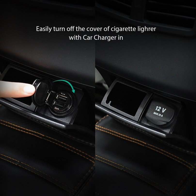 aukeydualusbcarcharger