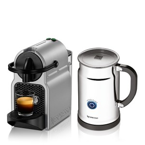 nespressoinissiaespressomakersilverwithmilk