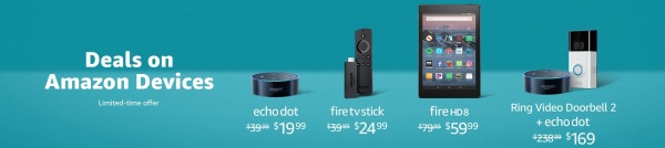 Amazon Device Sale